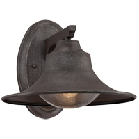 Trent 1 Light 10 inch Artisan Rust Outdoor Wall Lantern
