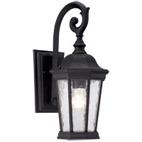 Savoy House Hampden 1 Light Outdoor Lantern in Black 5-5080-BK