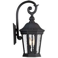 Hampden 2 Light 21 inch Black Outdoor Wall Lantern