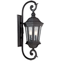 Hampden 2 Light 29 inch Black Outdoor Wall Lantern