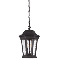 Hampden 2 Light 10 inch Black Outdoor Hanging Lantern