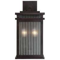 Radford 2 Light 17 inch English Bronze Outdoor Wall Lantern
