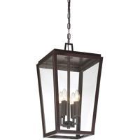 Savoy House 5-549-13 Milton 4 Light 12 inch English Bronze Hanging Lantern Ceiling Light