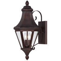 Savoy House Malta 2 Light Outdoor Wall Lantern in English Bronze 5-5610-13 photo thumbnail