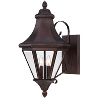 Savoy House Malta 3 Light Outdoor Wall Lantern in English Bronze 5-5611-13