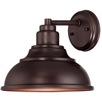 Dunston DS 1 Light 10 inch English Bronze Outdoor Wall Lantern