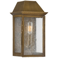 Savoy House Perry 1 Light Outdoor Wall Lantern in Burnished Copper 5-5870-36