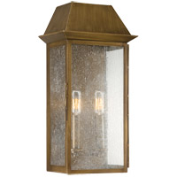 Savoy House Perry 2 Light Outdoor Wall Lantern in Burnished Copper 5-5871-36