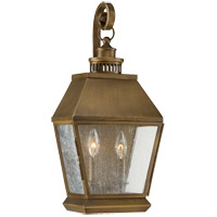 Savoy House Maple 2 Light Outdoor Wall Lantern in Burnished Copper 5-5891-36