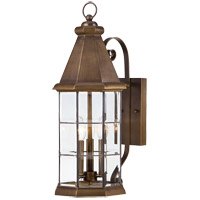 Savoy House Regent 4 Light Outdoor Wall Lantern in Burnished Sienna 5-5951-290