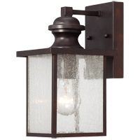 Newberry 1 Light 11 inch English Bronze Outdoor Wall Lantern