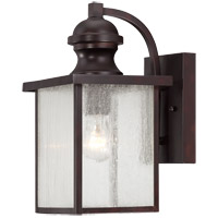 Newberry 1 Light 7 inch English Bronze Lantern Ceiling Light in Seeded
