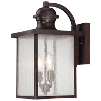 Newberry 2 Light 9 inch English Bronze Lantern Ceiling Light in Seeded