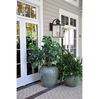 Savoy House 5-602-13 Newberry 2 Light 17 inch English Bronze Outdoor Wall Lantern alternative photo thumbnail