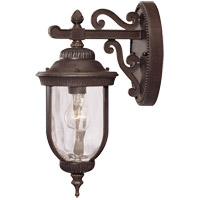 Castlemain 1 Light 16 inch Walnut Patina Outdoor Wall Lantern