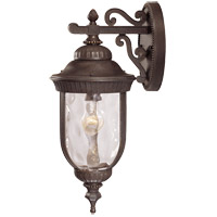 Castlemain 1 Light 20 inch Walnut Patina Outdoor Wall Lantern