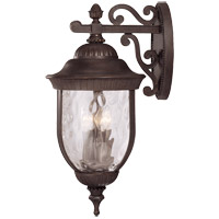 Savoy House Castlemain 4 Light Outdoor Wall Lantern in Walnut Patina 5-60325-40