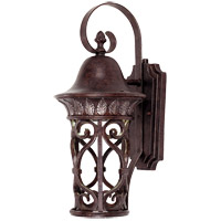 Savoy House Aficianado 1 Light Dark Sky Outdoor Wall Lantern in New Tortoise Shell w/Silver 5-6050-DS-8