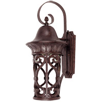 Savoy House Aficianado 1 Light Dark Sky Outdoor Wall Lantern in New Tortoise Shell w/Silver 5-6052-DS-8
