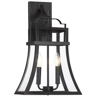 Savoy House 5-609-13 Avon 2 Light 19 inch English Bronze Outdoor Wall Lantern
