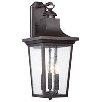 Savoy House 5-616-13 Randolph 3 Light 23 inch English Bronze Outdoor Wall Lantern