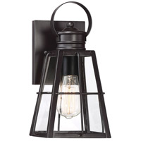 Savoy House 5-617-13 Quincy 1 Light 12 inch English Bronze Outdoor Wall Lantern
