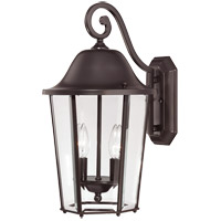 Savoy House Truscott 2 Light Outdoor Wall Lantern in English Bronze 5-6212-13