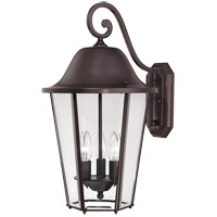 Savoy House Truscott 3 Light Outdoor Wall Lantern in English Bronze 5-6213-13 photo thumbnail