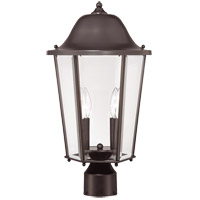Savoy House Truscott 2 Light Outdoor Post Lantern in English Bronze 5-6214-13