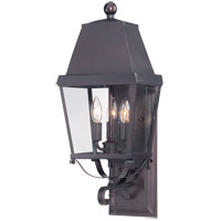 Savoy House Nevington 3 Light Outdoor Wall Lantern in English Bronze 5-6300-13 photo thumbnail
