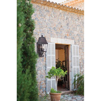 Savoy House Nevington 3 Light Outdoor Wall Lantern in English Bronze 5-6300-13