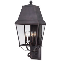 Savoy House Nevington 4 Light Outdoor Wall Lantern in English Bronze 5-6301-13