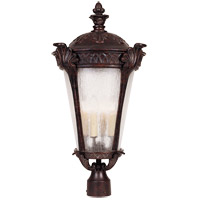 Savoy House Pompia 4 Light Outdoor Post Lantern in Distressed Bronze 5-673-59 photo thumbnail