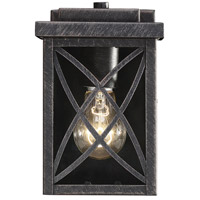 Norwalk 1 Light 15 inch Brushed Bronze Outdoor Wall Lantern