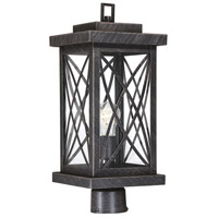 Norwalk 1 Light 19 inch Brushed Bronze Outdoor Post Lantern