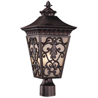 Savoy House Bientina 3 Light Outdoor Post Lantern in Slate 5-7133-25