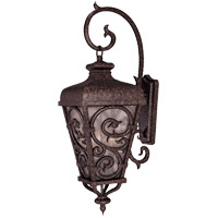 Savoy House Spaniard 3 Light Outdoor Wall Lantern in New Tortoise Shell w/ Gold 5-7140-56 photo thumbnail