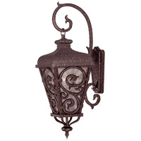 Savoy House Spaniard 1 Light Outdoor Wall Lantern in New Tortoise Shell w/ Gold 5-7147-56 photo thumbnail