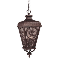 Savoy House Spaniard 3 Light Outdoor Hanging Lantern in New Tortoise Shell w/ Gold 5-7148-56 photo thumbnail