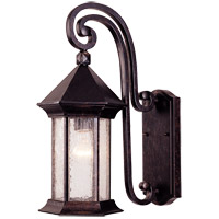 Savoy House Radcliffe 1 Light Outdoor Wall Lantern in Oily Bronze 5-7600-2