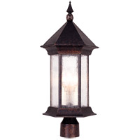 Savoy House Radcliffe 3 Light Outdoor Post Lantern in Oily Bronze 5-7606-2