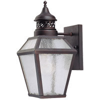 Savoy House Chiminea 1 Light Wall Lantern in English Bronze 5-772-13 photo thumbnail