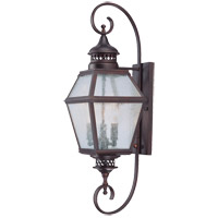 Savoy House 5-773-13 Chiminea 3 Light 28 inch English Bronze Outdoor Wall Lantern