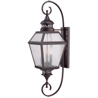 Savoy House Chiminea 3 Light Outdoor Wall Lantern in English Bronze 5-774-13
