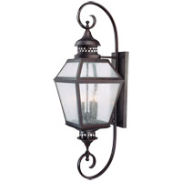 Savoy House Chiminea 4 Light Outdoor Wall Lantern in English Bronze 5-775-13 photo thumbnail
