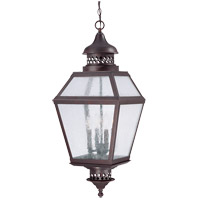 Savoy House Chiminea 4 Light Outdoor Hanging Lantern in English Bronze 5-776-13