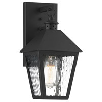 Savoy House 5-790-BK Harrison 1 Light 14 inch Matte Black Outdoor Sconce