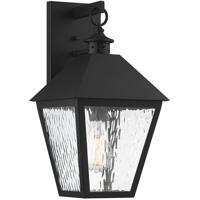 Savoy House 5-791-BK Harrison 1 Light 18 inch Matte Black Outdoor Sconce