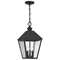 Savoy House 5-793-BK Harrison 3 Light 11 inch Matte Black Outdoor Pendant