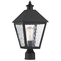 Savoy House 5-794-BK Harrison 1 Light 19 inch Matte Black Outdoor Post Lantern